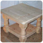 Custom made wooden table - commercial standard