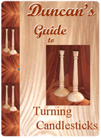 Learn to turn candle sticks, wood turning tutorial